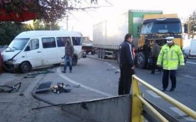 accident rutier DN 68 Haţeg-Caransebeş
