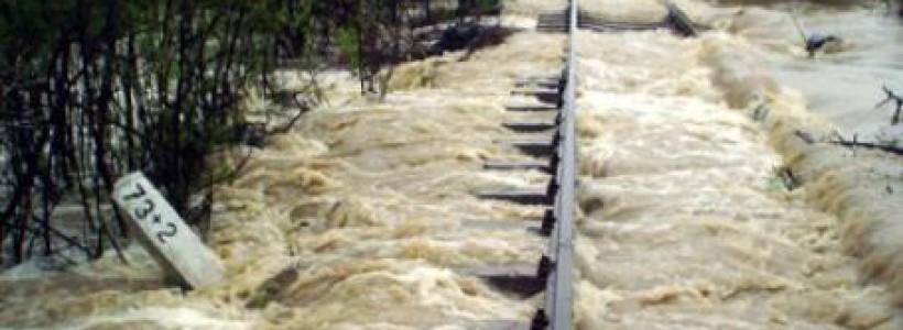 cod rosu de inundatii pe Barzava si Moravita in Timis
