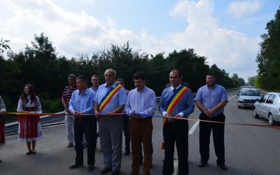 Inagurare drum Sanpetru German pod Pecica