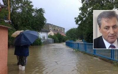 Primarul Marcel Vela sustine ca are solutii impotriva inundatiilor