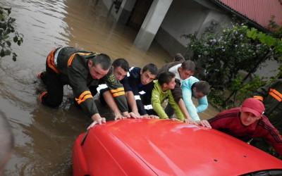 inundatii la Zabrani