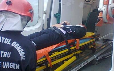 Accident cu o victima in Timis