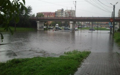 Inundatii la Arad