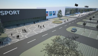 Proiectul noului mall din Calea Sagului Timisoara