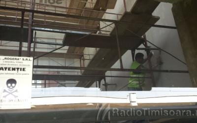 Gara de Nord Timisoara in reparatii