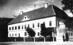 Castelul din Banloc, in anul 1936. Foto: wikipedia
