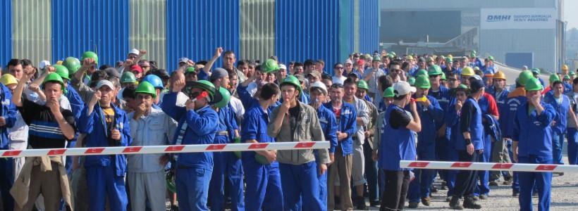 protest Termocentrala Complex Energetic Hunedoara