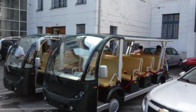 Timisoara are minibusuri pentru promenade turistice