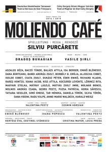 Afis litera MOLIENDO CAFE