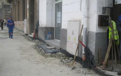 Firmă sancționată pentru că executa lucrări fără aprobare în zona Libertății din Timișoara