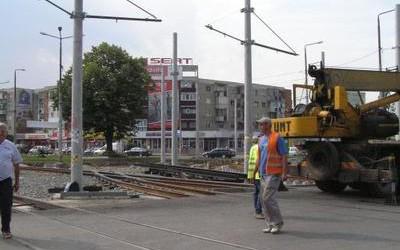 Fără tramvaie pe strada Cocorilor din Arad