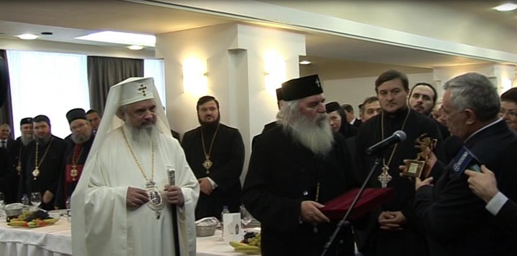 Preafericitul Daniel a primit titlul de Cetățean de Onoare al județului Timiș 3