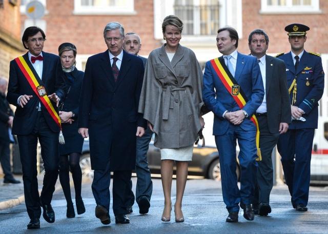 MOns Belgia capitala culturala europeana regina Mathilde