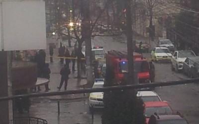 Alertă cu bombă la două bănci comerciale din Chişinău