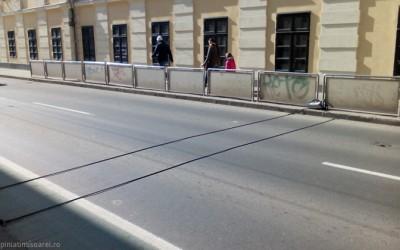 Cabluri de sondare a traficului, pe principalele artere din Timișoara