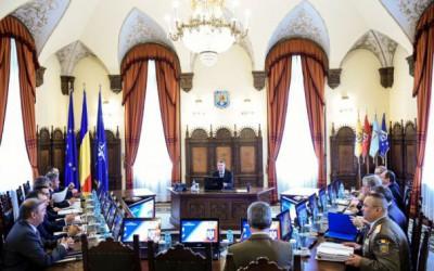 Prima şedinţă CSAT din mandatul lui Klaus Iohannis