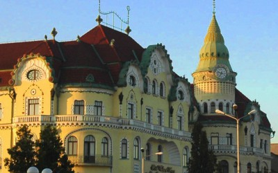 Palatul Vulturul Negru din Oradea Art Nouveau