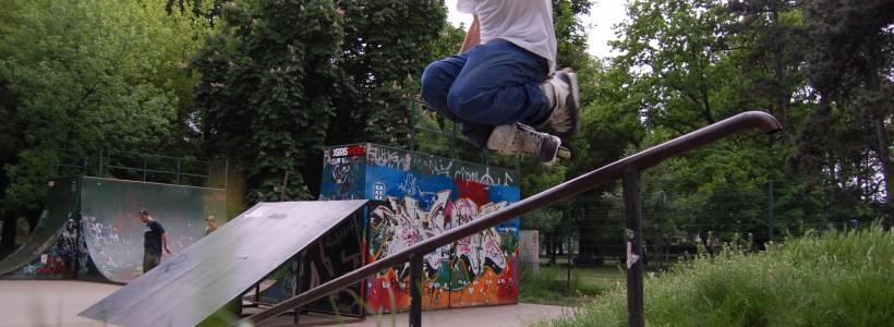 Parcul Central skatepark Timisoara