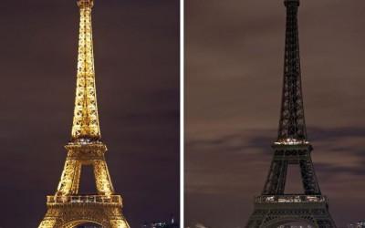 Ora Pământului: Turnul Eiffel a rămas în întuneric pentru 5 minute