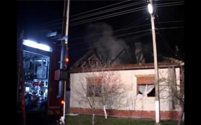 incendiu Sofronea Arad