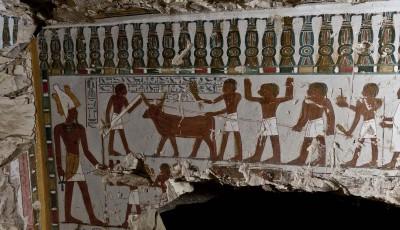 A fost descoperit la Luxor mormântul lui Amenhotep, 'paznicul uşii zeului Ammon'