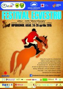 Festivalul Ecvestru - Afis A2