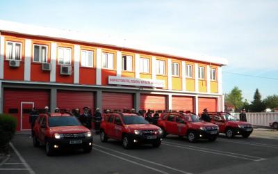 Patru autospeciale noi pentru ISU Timiș
