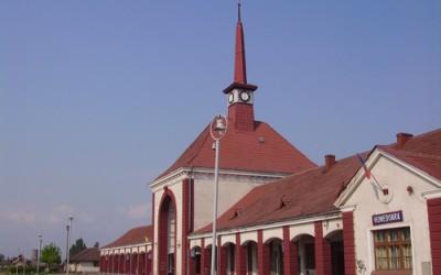 Nu mai circulă niciun tren prin gara din municipiul Hunedoara!