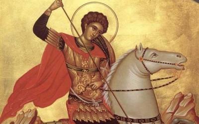 Creștinii ortodocși îl sărbătoresc pe Sfântul Mare Mucenic Gheorghe