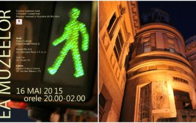 Complexul Muzeal Arad sărbătoreşte şi în acest an Noaptea Europeană a Muzeelor. Muzeele din Arad şi Lipova vor fi deschise publicului sâmbătă, 16 mai, până dupa miezul nopţii.