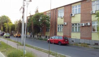Pe malul Begăi în zona Pieței Badea Cârțan, unde mai mulți copaci proaspăt plantați s-au uscat.