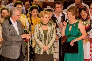 Spectacol folclor, aniversare Radio Timișoara