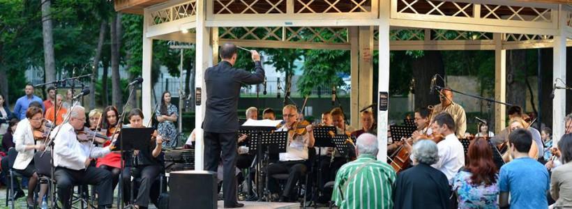 Incanto Quartetto Zilele Muzicii Vieneze Parcul Botanic