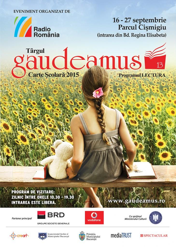 Afis A2 Gaudeamus carte scolara 2015