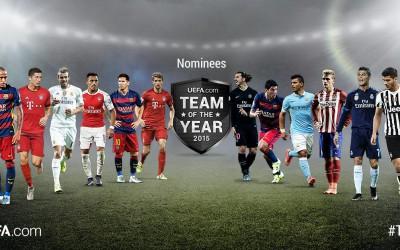 Echipa UEFA 2015