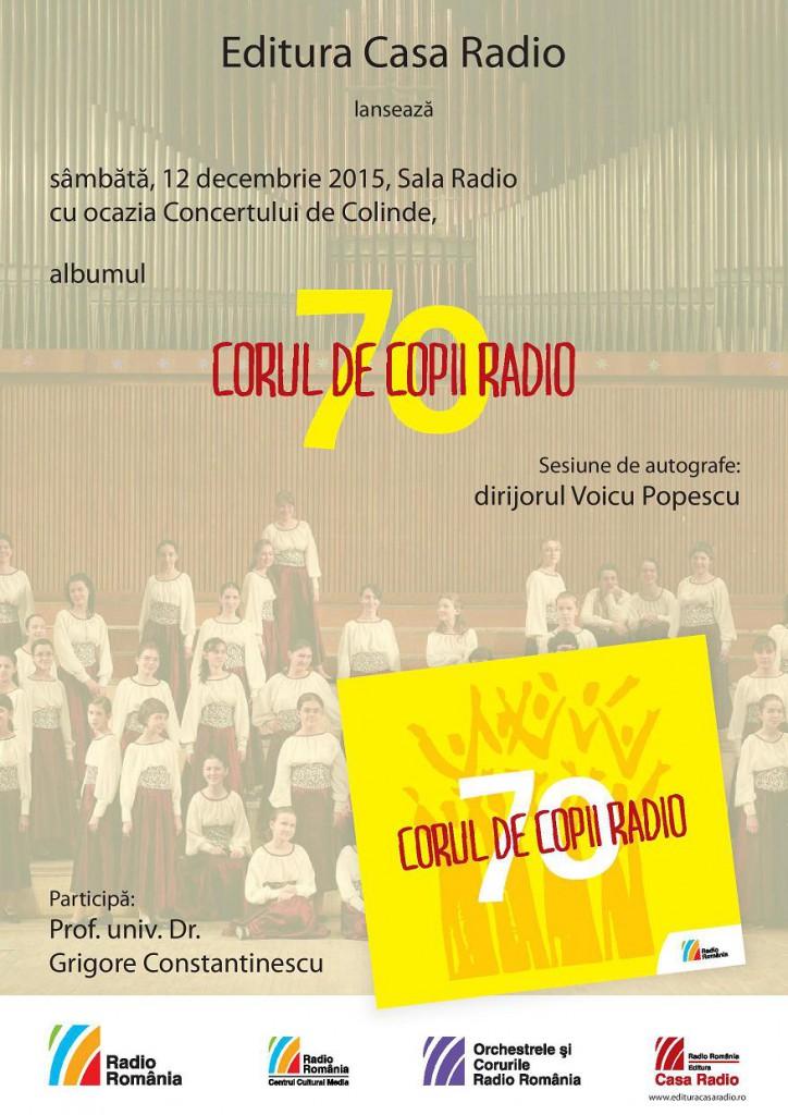 Corul de Copii Radio - 70 afis