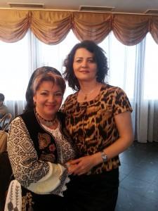 Liliana Savu Badea cu D. Bacila