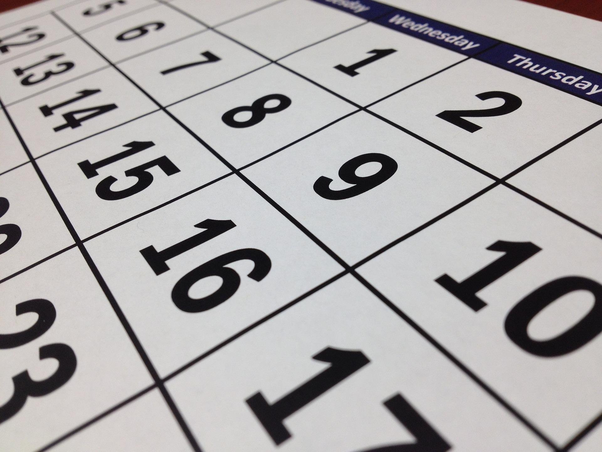 Zile Lucratoare Mai 2016 | Calendar Template 2016