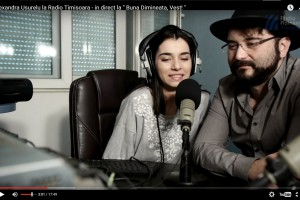 "VIDEO / Alexandra Ușurelu, în direct în ""Bună dimineața, Vest!"" la Radio Timișoara"