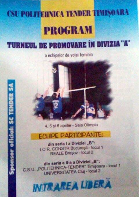 Program baraj A1 2003
