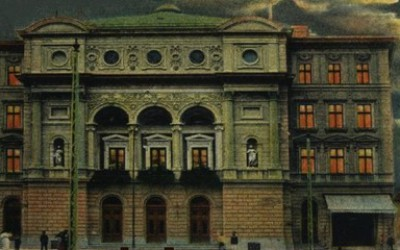 Opera Timisoara , vechiu aspect (vedere - Sergiu Galis)