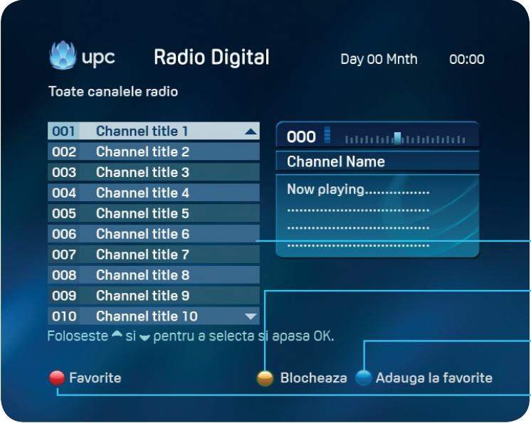 160505 UPC receptor meniu radio