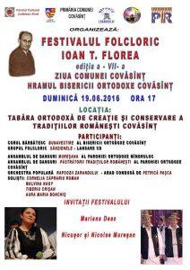 Afis festival Covasant