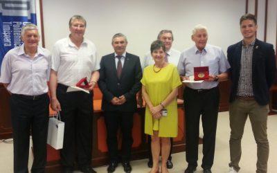Gunesch și Coste premiați de conducerea UPT