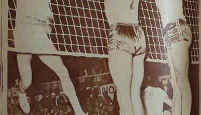 Secvență din finala disputată de cele două formații în 1967