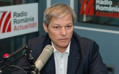 Primul-ministru Dacian Cioloș în studioul RRA