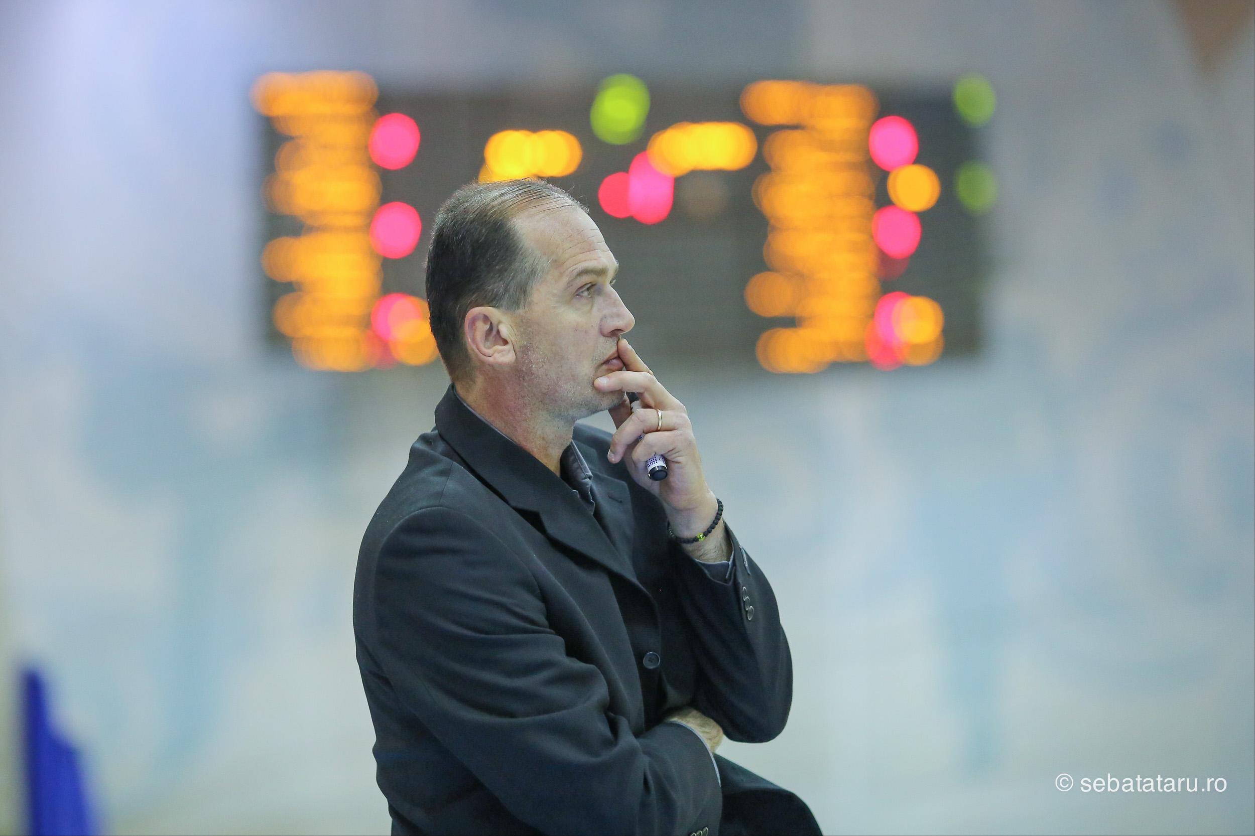 Meciul de baschet dintre SCM BC Timisoara si Steaua Bucuresti, contand pentru etapa a 15-a, Sala Constantin Jude, sambata 17 decembrie 2016. SEBASTIAN TATARU
