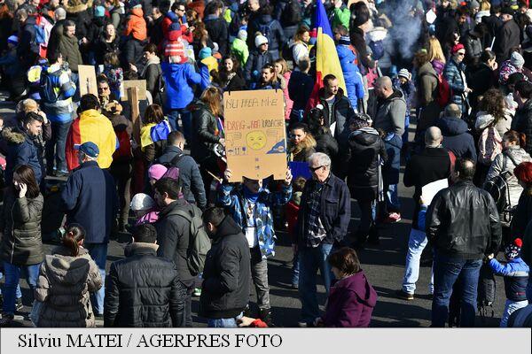 protest bucuresti ziua 6