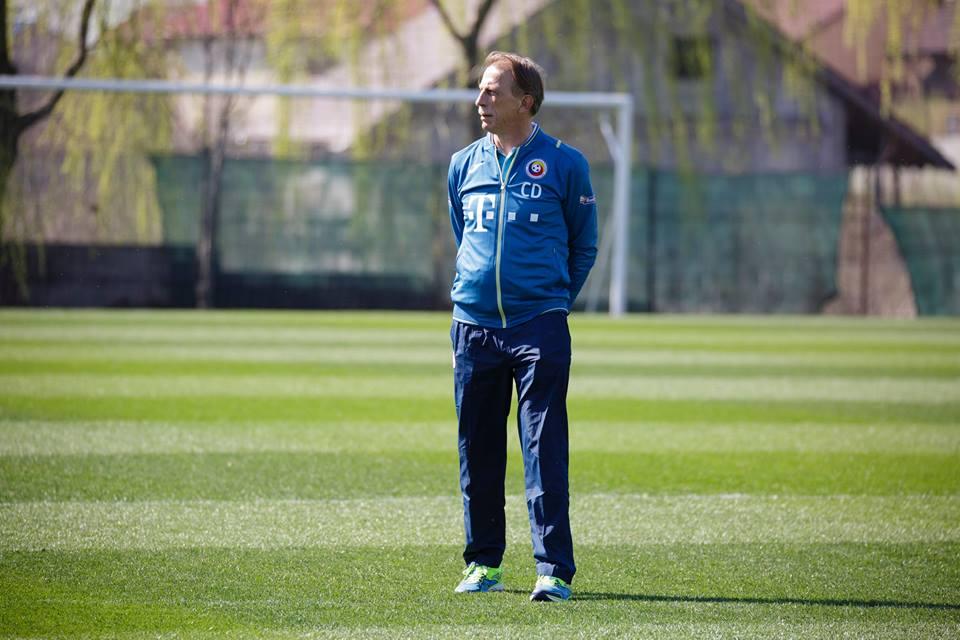 Christoph Daum conduce antrenamentul
