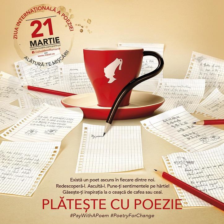 Julius Meinl Plateste cu Poezie 2017